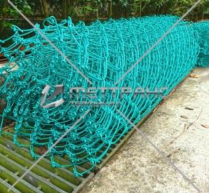 Сетка рабица с полимерным покрытием ПВХ в Атырау